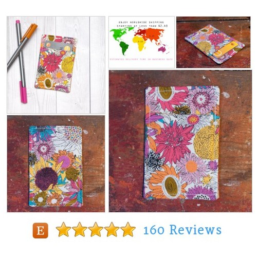 Slim card wallet - Colorful flowers - #etsy @chockrosa  #etsy #PromoteEtsy #PictureVideo @SharePicVideo