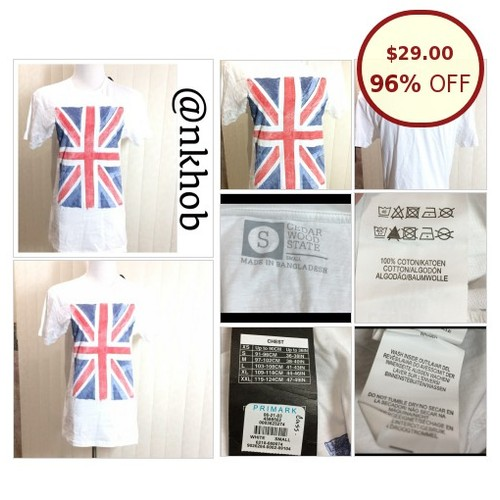 English Flag Print Tee @nnkhob https://www.SharePicVideo.com/?ref=PostPicVideoToTwitter-nnkhob #socialselling #PromoteStore #PictureVideo @SharePicVideo