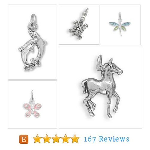 Assorted Sterling Silver Animal Charms, #etsy @jewelrymandave  #etsy #PromoteEtsy #PictureVideo @SharePicVideo