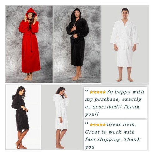 These plush hooded bathrobes make great gifts or get one for yourself! We have them at Shar's Boutique! #ebay #PromoteEbay #PictureVideo @SharePicVideo