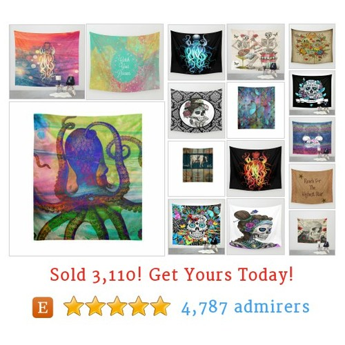 Wall Tapestries Etsy shop #walltapestry #etsy @folkfunkydesign  #etsy #PromoteEtsy #PictureVideo @SharePicVideo