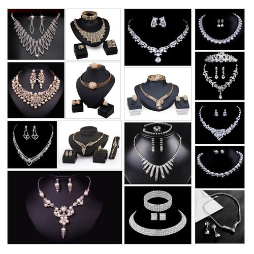 Wedding and Bridal Jewelry of Crystals, Pearls, & gold @rhina_dc #shopify  #shopify #PromoteStore #PictureVideo @SharePicVideo