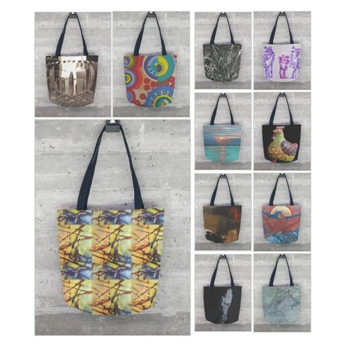 Tote Bags by @shopvida #socialselling #PromoteStore #PictureVideo @SharePicVideo