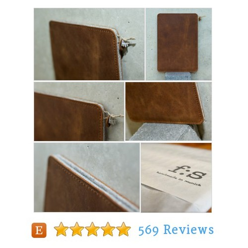 Galaxy Tab S 8.0 | 9.7 Leather Sleeve/Cover #etsy @filzstueck  #etsy #PromoteEtsy #PictureVideo @SharePicVideo