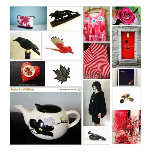 T -Red & Black Finds by Diane on Etsy #etsyspecialt #integritytt #TintegrityT #etsyteams #RT #etsy #PromoteEtsy #PictureVideo @SharePicVideo
