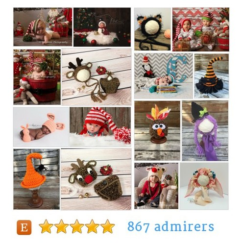 Holiday Hats and Props #etsy shop #holidayhatsandprop @224locust  #etsy #PromoteEtsy #PictureVideo @SharePicVideo