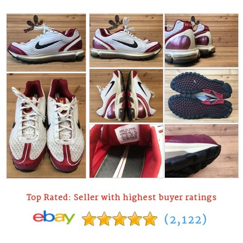 Nike Air Max 2004 sz 12 White Black Red 308533-101 #ebay @solesout  #etsy #PromoteEbay #PictureVideo @SharePicVideo