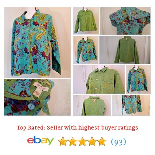 Norm Thompson Women's #Jacket Size 2x Multi-Colored Quilted Reversible Floral | eBay #Coat #BasicJacket #etsy #PromoteEbay #PictureVideo @SharePicVideo