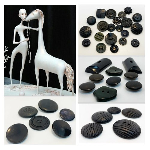 Find beautiful Black Vintage Button collection @ supplysideeconomics Etsy shop  #etsyspecialt  #SpecialTGIF   #TMTinsta  @BlazedRTs @SGH_RTs @SpxcRTs @SympathyRTs #vintagebuttons #blackbuttons #estatesalefinds #etsy #PromoteEtsy #PictureVideo @SharePicVideo