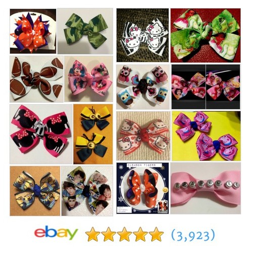Hair Bows Items in SMiles Amazing Hairbows store #ebay @smilestreasures  #ebay #PromoteEbay #PictureVideo @SharePicVideo