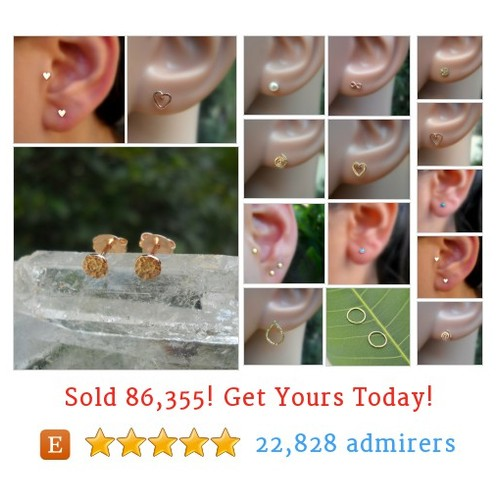 14K Solid Gold Earrings Etsy shop #14ksolidgoldearring #etsy #PromoteEtsy #PictureVideo @SharePicVideo