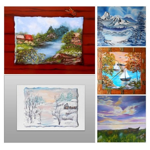 Exclusive original Paintings Landscape by  on Etsy:https://www.etsy.com/shop/ArtBuyOnline #etsy #PromoteEtsy #PictureVideo @SharePicVideo