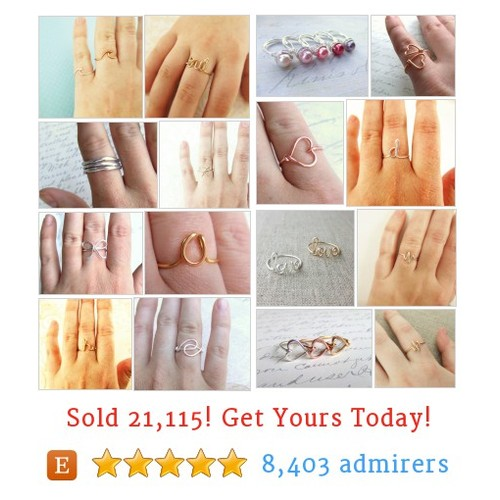 Rings Etsy shop #etsy @therockwrapper  #etsy #PromoteEtsy #PictureVideo @SharePicVideo
