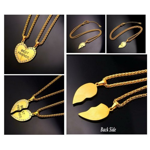 18k Gold Plated Pendant Jewelry Heart Necklace @fullfun4u #shopify  #socialselling #PromoteStore #PictureVideo @SharePicVideo