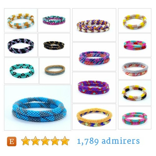 Two Bracelet Sets #etsy shop #twobraceletset @ethnokolor  #etsy #PromoteEtsy #PictureVideo @SharePicVideo
