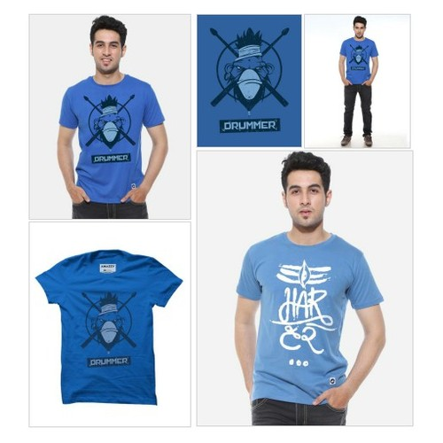 DRUMMER - Men's Music T-Shirt @AmazzyStore #shopify  #socialselling #PromoteStore #PictureVideo @SharePicVideo