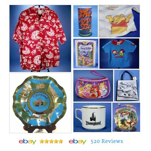 #Disney Items in J&J's Clothing Gifts & Collectibles store on eBay! #disneyland #disneyworld #ebay #PromoteEbay #PictureVideo @SharePicVideo