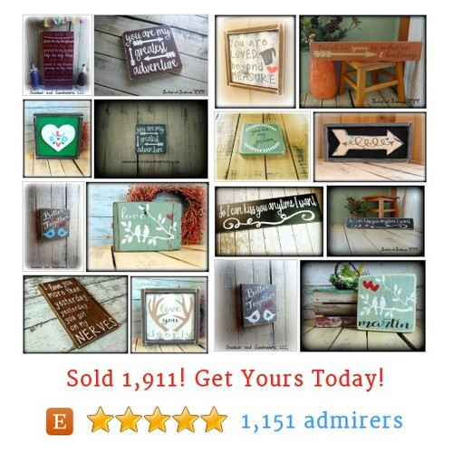 Romantic Signs Etsy shop #etsy @sawdustandsun  #etsy #PromoteEtsy #PictureVideo @SharePicVideo