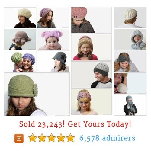 Hats - Patterns Etsy shop #hatspattern #etsy @knotsewcuteshop  #etsy #PromoteEtsy #PictureVideo @SharePicVideo