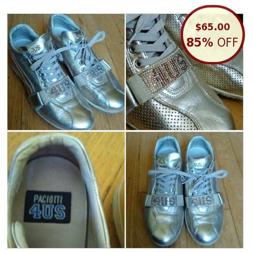 Paciotti 4US Gold Metallic Sneakers, @dawnlucian11 https://www.SharePicVideo.com/?ref=PostPicVideoToTwitter-dawnlucian11 #socialselling #PromoteStore #PictureVideo @SharePicVideo