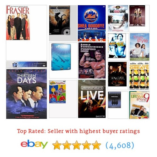 DVD Collectibles Items in fuzziestdawg store #ebay  #ebay #PromoteEbay #PictureVideo @SharePicVideo