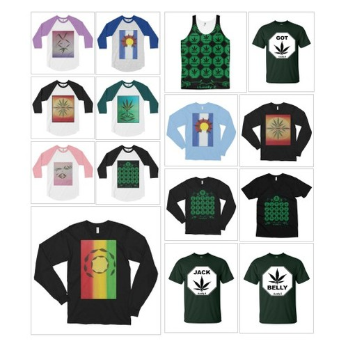 T Shirts By LEAFY Z @therealpotheadz  #shopify #PromoteStore #PictureVideo @SharePicVideo