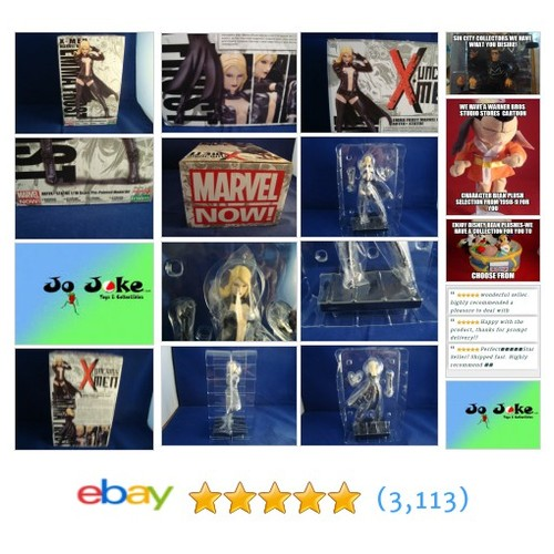 MARVEL NOW-X-MEN-EMMA FROST-7.5 INCH-ARTFX-KOTOBUKIYA-EXCELLENT DETAIL-BOXED- | eBay #etsy #PromoteEbay #PictureVideo @SharePicVideo