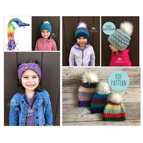 Wonderful children's hats @ SmileyGoose Etsy shop  #etsyspecialt  #SpecialTGIF      @twitchraid @RTDNR @SGH_RTs  #crochet #crochethats #childrensclothes #hats #kidshats #etsy #PromoteEtsy #PictureVideo @SharePicVideo