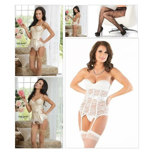 Eyelash Lace Bustier @satinlacestore  #shopify #PromoteStore #PictureVideo @SharePicVideo