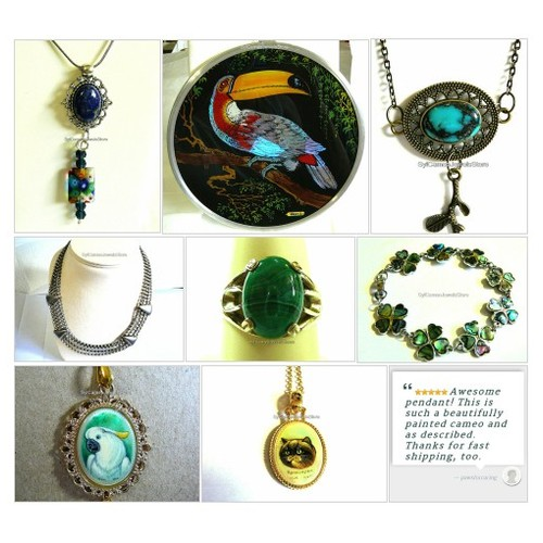 #Jewelry #SylCameoJewelsStore #Etsyshop #handmade #etsyspecialT #specialtoo #integritytt @InfamousRTs @Demented_RTs @etsyRT  #etsy #PromoteEtsy #PictureVideo @SharePicVideo
