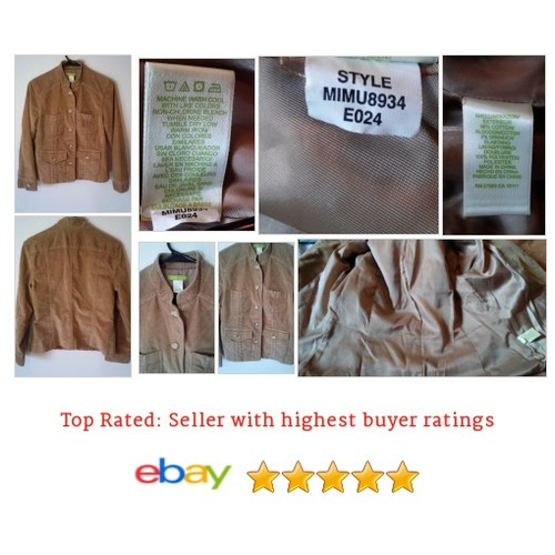 Sigrid Olsen Women's #Blazer Size 6 Brown Lined Cotton Blend Corduroy Work | eBay #Suit #SigridOlsen #etsy #PromoteEbay #PictureVideo @SharePicVideo