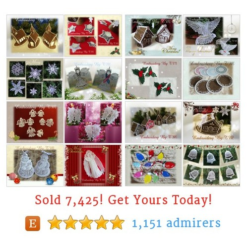 Christmas and Angels Etsy shop #christmasandangel #etsy @tmembroidery  #etsy #PromoteEtsy #PictureVideo @SharePicVideo
