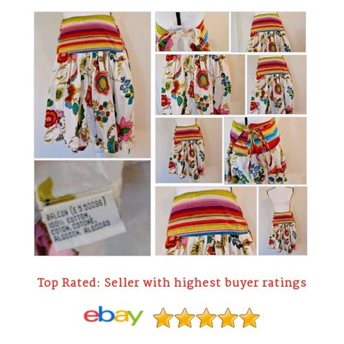 #Skirt Women' Size S to L Wrap Floral Stripes Hippy BoHo Peasant 100% Cotton Date | eBay #Boho #Unknown #etsy #PromoteEbay #PictureVideo @SharePicVideo