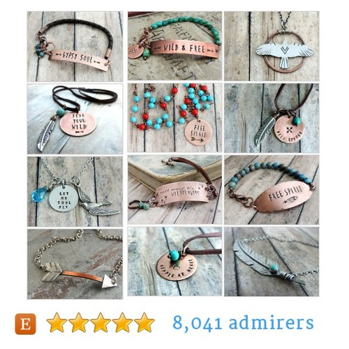 Boho Chic Jewelry by @atwistofwhimsy  #etsy shop #BohoChicJewelry  #etsy #PromoteEtsy #PictureVideo @SharePicVideo