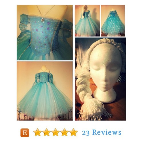 Ice Queen tutu dress costume with headband #etsy @burrellios29 https://www.SharePicVideo.com/?ref=PostPicVideoToTwitter-burrellios29 #etsy #PromoteEtsy #PictureVideo @SharePicVideo