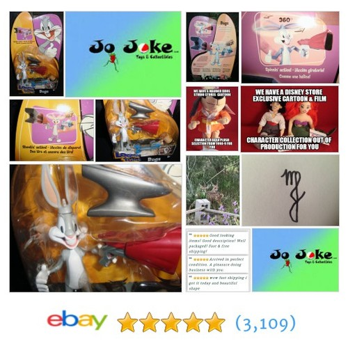 LOONEY TUNES BUGS BUNNY BACK IN ACTION-ANVIL&MALLET SHOOTER-2003-MATTEL-COOL-NEW | eBay #MATTEL #etsy #PromoteEbay #PictureVideo @SharePicVideo