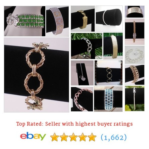 Women's Bracelets Great deals from Bella Vita Silver #ebay @damill33donna  #ebay #PromoteEbay #PictureVideo @SharePicVideo