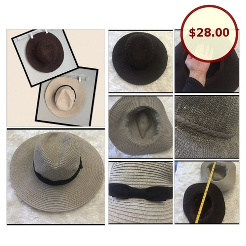 2 gorgeous floppy hats Club Monaco + 1 @_candicecouture https://www.SharePicVideo.com/?ref=PostPicVideoToTwitter-_candicecouture #socialselling #PromoteStore #PictureVideo @SharePicVideo