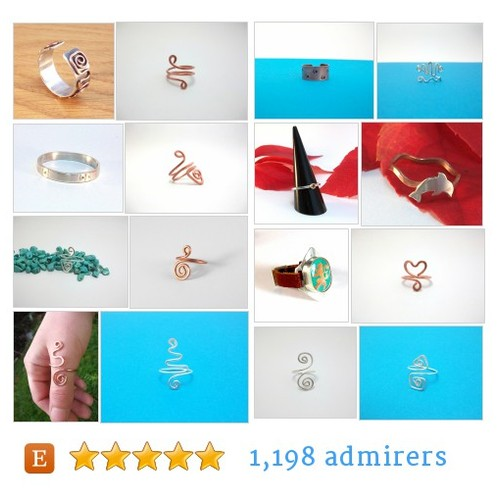 Rings #etsy shop #ring @fizzcatcreation  #etsy #PromoteEtsy #PictureVideo @SharePicVideo