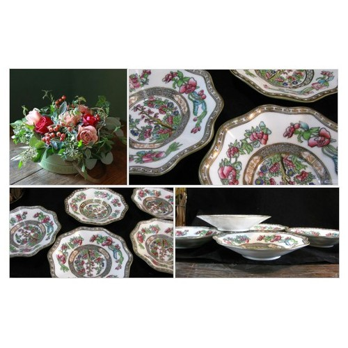 Coalport China, Made In England, Indian Tree Pattern, Coupe Cereal, Berry, Fruit Bowls , Farmhouse Kitchen, Vintage 5pc Set, Gift For Her #etsyspecialt #integritytt #SpecialTGIF #Specialtoo  #SpecialTParty      @FallingFearsRT  @FindMeAClan #etsy #PromoteEtsy #PictureVideo @SharePicVideo