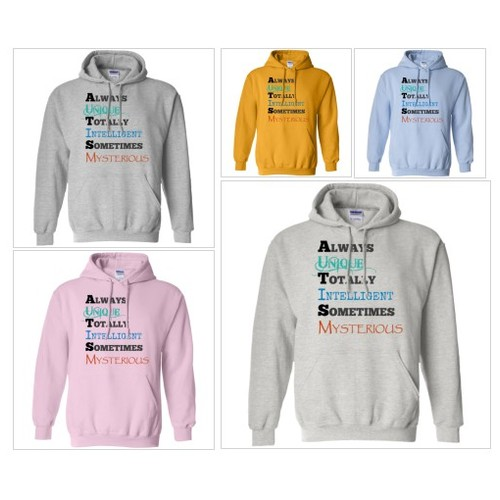 Unique, Intelligent and Mysterious Pullover Hoodie #socialselling #PromoteStore #PictureVideo @SharePicVideo