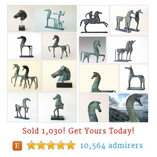 Greek Horses Etsy shop #etsy @greekmythos  #etsy #PromoteEtsy #PictureVideo @SharePicVideo