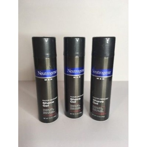 3 Pack - Neutrogena Men Razor Defense, Shave Gel for Sensitive Skin 7 oz Each  | eBay #etsy #PromoteEbay #PictureVideo @SharePicVideo