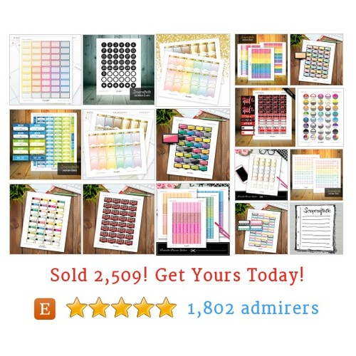 Planner Stickers Etsy shop #etsy @scrapcraftastic  #etsy #PromoteEtsy #PictureVideo @SharePicVideo