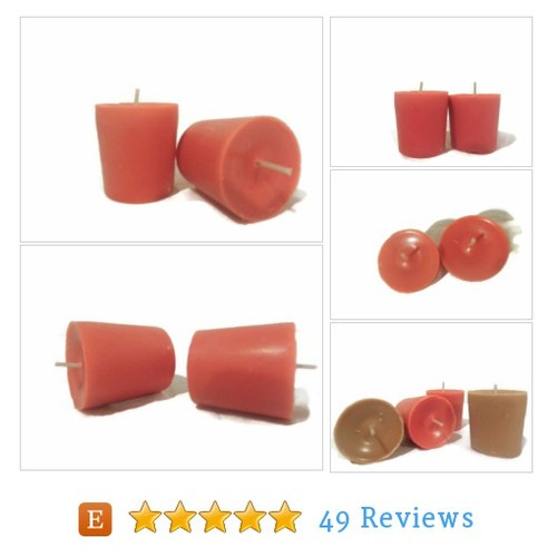 Spiced apple votive candles, hand poured #etsy @bffychick https://www.SharePicVideo.com/?ref=PostPicVideoToTwitter-bffychick #etsy #PromoteEtsy #PictureVideo @SharePicVideo