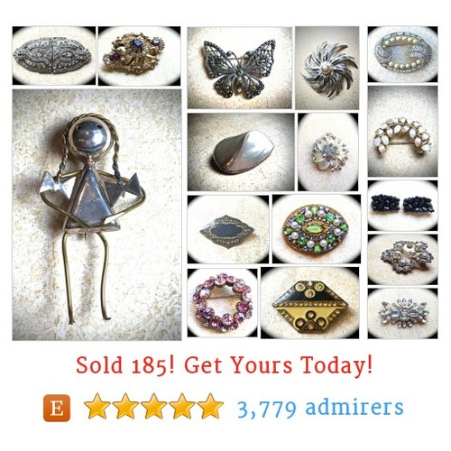 Brooches & Buckles Etsy shop #brooch #buckle #etsy @jnpvintagejewel  #etsy #PromoteEtsy #PictureVideo @SharePicVideo