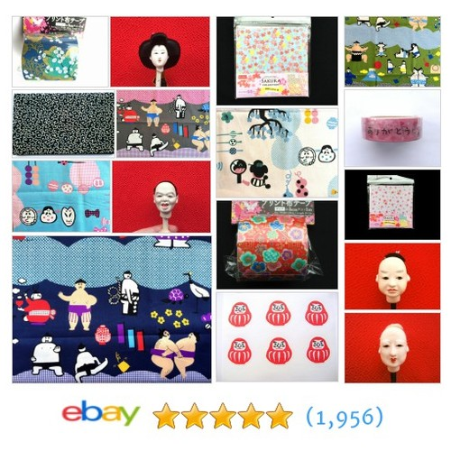 Japanese Craft Supplies Items in Sakura And Sushi store #ebay @futoshijapanese  #ebay #PromoteEbay #PictureVideo @SharePicVideo
