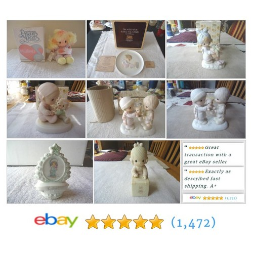 Vintage Precious Moments Items in Foster Web Store ! #PreciousMoments #ebay #PromoteEbay #PictureVideo @SharePicVideo
