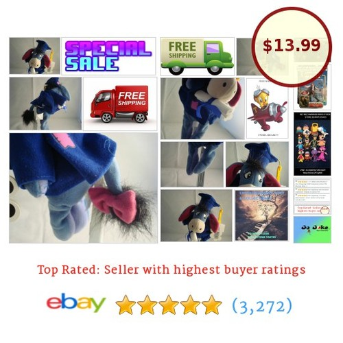 DISNEY STORE-MOUSEKETOYS-EEYORE GRADUATION-9 INCH-GRAD NOW-NEW/TAGS-UNIQUE-FIND! | eBay #Disney #etsy #PromoteEbay #PictureVideo @SharePicVideo