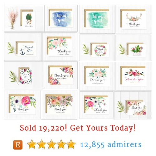 Thank You Cards Etsy shop #etsy @mooseberryco https://www.SharePicVideo.com/?ref=PostPicVideoToTwitter-mooseberryco #etsy #PromoteEtsy #PictureVideo @SharePicVideo
